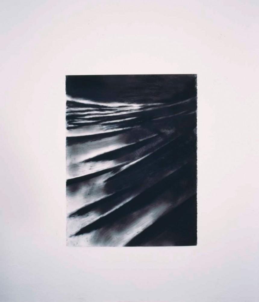 Die Frau in den Dünen, 2002, 127 x 97 cm