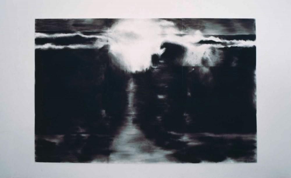 Seestück, 2002, 195 x 300 cm