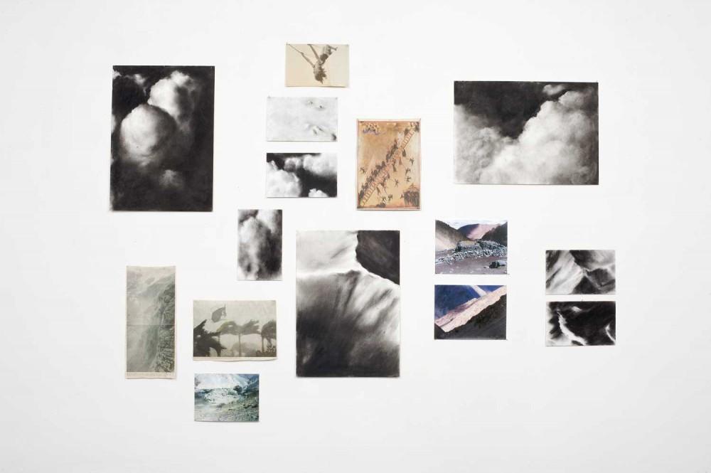 Fundus/Atelier 2006, Fotos, Zeitungsausschnitte, Zeichnungen