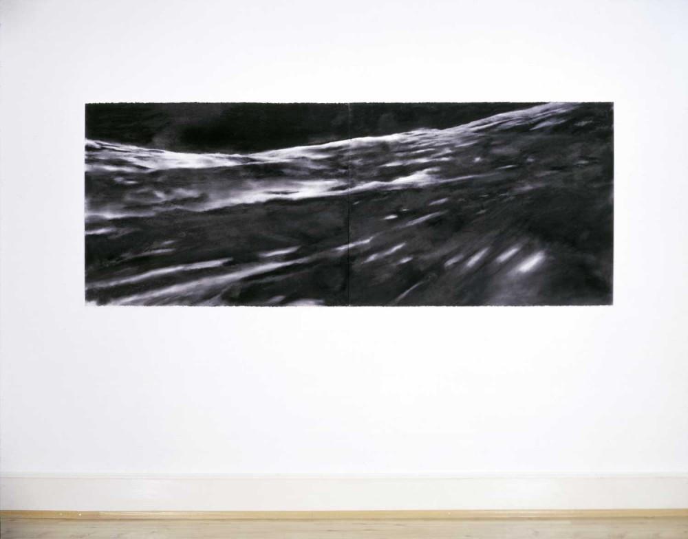 Schwimm!, 2004, 97 x 254 cm