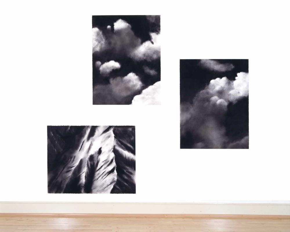 ORTE UND UNORTE, 2005, je 97 x 127 bzw 127 x 97 cm